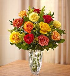 Marquis by Waterford - Premium Fall Roses Flower Power, Florist Davenport FL