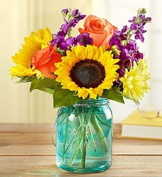 Sunny Bouquet for Dad Flower Power, Florist Davenport FL