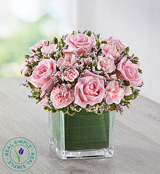 Pink Rose Fancy By Real Simple Flower Florist Davenport Fl