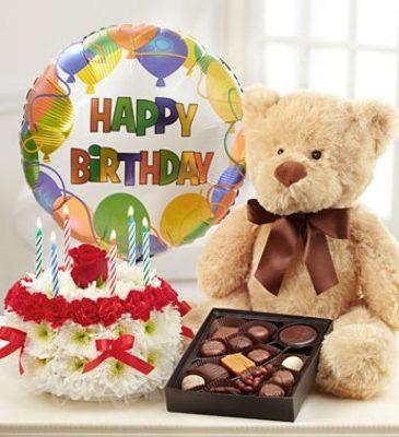Ultimate Birthday Bundle Flower Power Florist Davenport FL Click Here For Larger Image