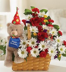 Happy Bear Day Flower Power, Florist Davenport FL