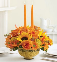 Tuscan Fall Centerpiece Flower Power, Florist Davenport FL