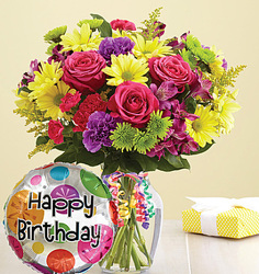 It's Your Day Happy Birthday Flower Power, Florist Davenport FL