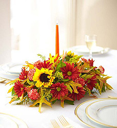 Fields of Europe for Fall Centerpiece Flower Power, Florist Davenport FL