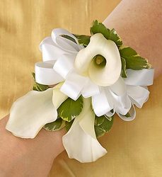 Mini Calla Corsage - Princess Flower Power, Florist Davenport FL