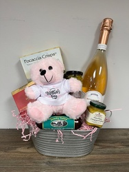 Mother's Day Rose Gift Basket Flower Power, Florist Davenport FL