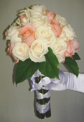 24 Rose and Stephanotis Bouquet Flower Power, Florist Davenport FL