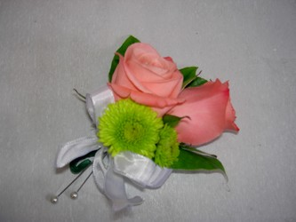 Rose and Button boutonniere Flower Power, Florist Davenport FL