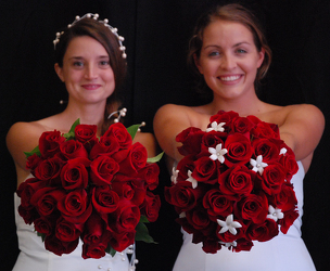 Rose and Stephanotis Bouquet Flower Power, Florist Davenport FL