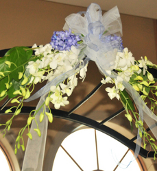 Wedding Arch Crescent Flower Power, Florist Davenport FL