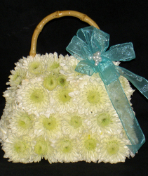 Flower Purse Bouquet small Flower Power, Florist Davenport FL