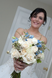 True Blue Bouquet Flower Power, Florist Davenport FL
