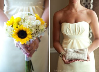 Sunshine Bridesmaid Bouquet Flower Power, Florist Davenport FL