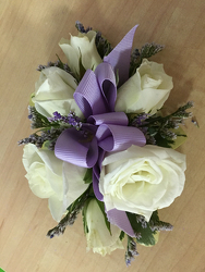 Lavender and Rose Corsage Flower Power, Florist Davenport FL