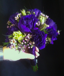 Lisianthus and Wax Flower Power, Florist Davenport FL