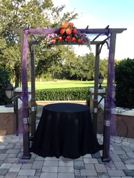 Halloween Arch Arrangement Flower Power, Florist Davenport FL