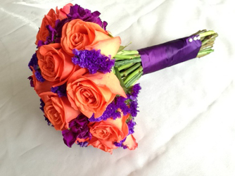 Halloween Bridal Bouquet Flower Power, Florist Davenport FL