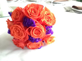 Halloween Bridesmaids Bouquet Flower Power, Florist Davenport FL