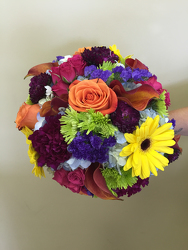 Colorful Bridal Bouquet Flower Power, Florist Davenport FL