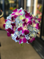 Hydrangea and Orchid Bouquet Flower Power, Florist Davenport FL