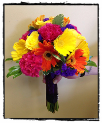 Summer Bridal Bouquet Flower Power, Florist Davenport FL