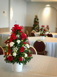 Christmas Tree Centerpiece Flower Power, Florist Davenport FL