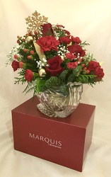 Marquis by Waterford Christmas Sleigh Flower Power, Florist Davenport FL