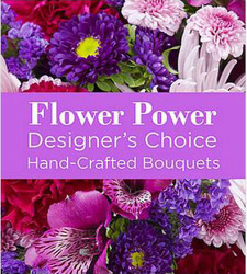 Designers Choice - Purple Flower Power, Florist Davenport FL