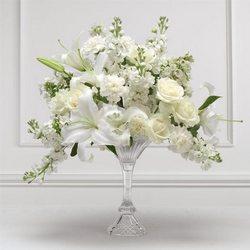 Wedding Crescent Ceremony Arrangement Flower Florist Davenport Fl