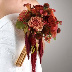 Fall Hand Tied Bouquet Flower Power, Florist Davenport FL