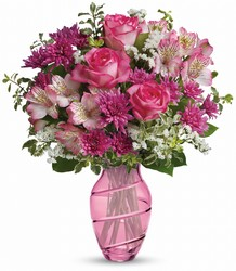 Pink Bliss Bouquet Flower Power, Florist Davenport FL