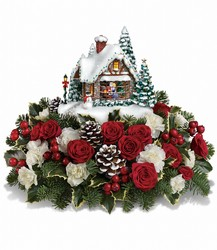 Thomas Kinkade's A Kiss For Santa