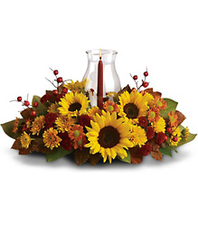 Sunflower Centerpiece Flower Power, Florist Davenport FL