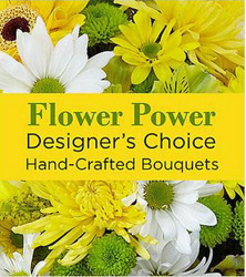 Designers Choice - Yellow Flower Power, Florist Davenport FL